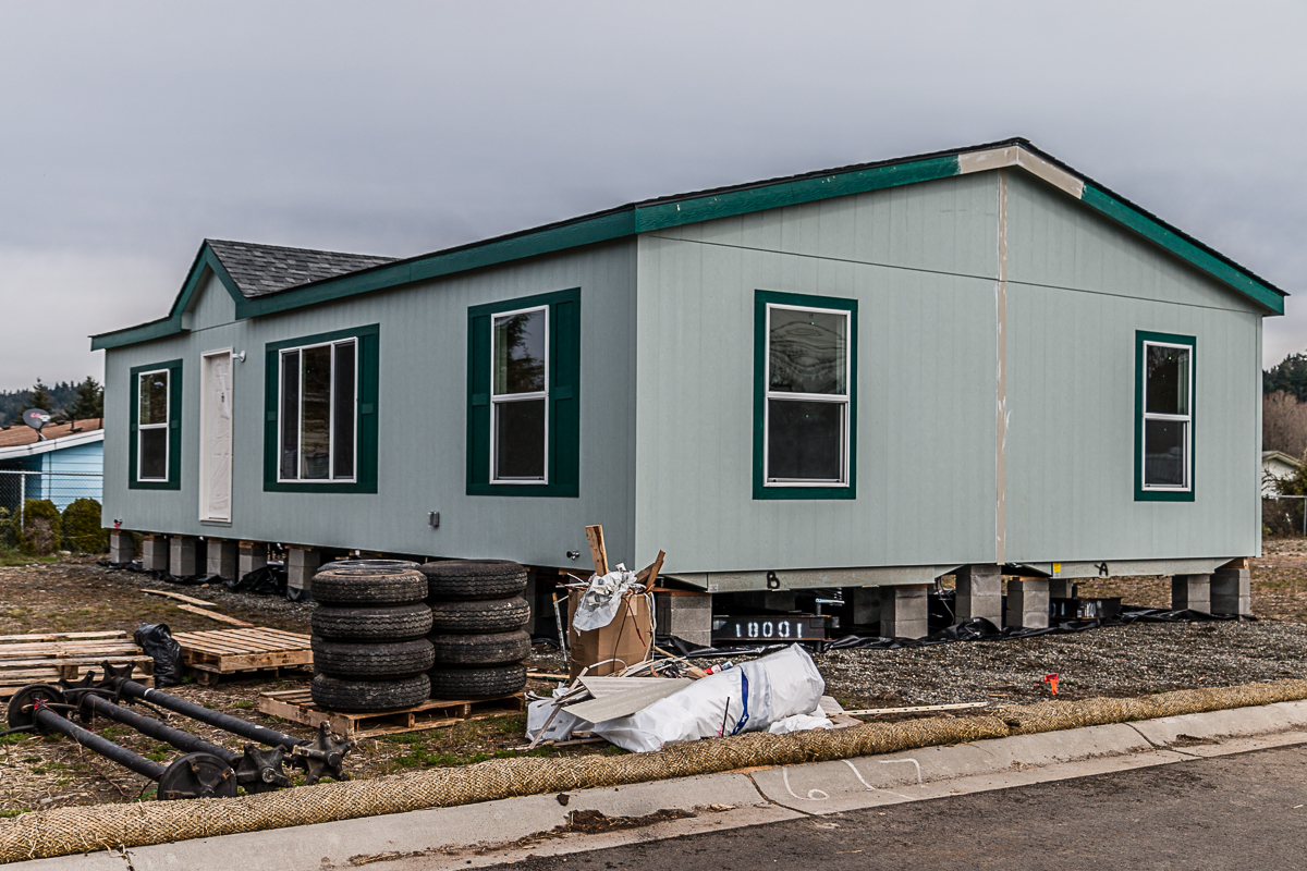 Mobile home setup requirements mobile home concrete pads for Affordable construction